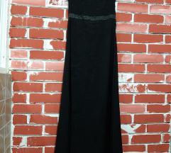 Dolg crn fustan