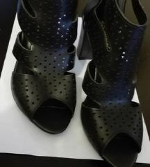 *350*Novi crni sandali