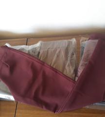 Novi pantaloni ostanati broevi XS S i M