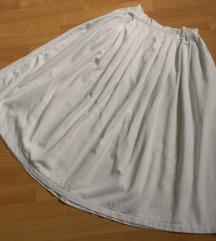 Bela suknja S