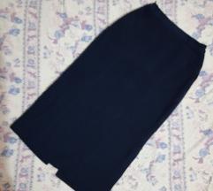 Klasicna teget dolga suknja