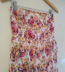 Cvetno fustance  vel S   ****   190 den