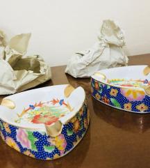 2 Pepelari porcelan noviii