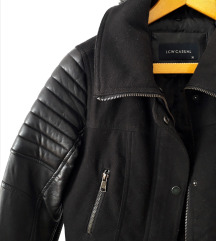 LC Waikiki црна зимски јакна
