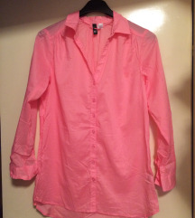 NEW - Розева летна женска кошулка Ѕ/М