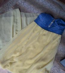 Zara Nov Dolg fustan