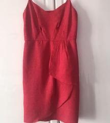 Eleganten crven fustan