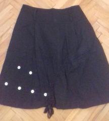 Crna suknja m/l