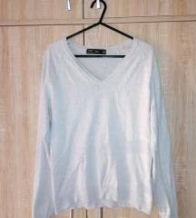 женски џемпер со V отвор rezz