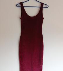 Нов бордо фустан
