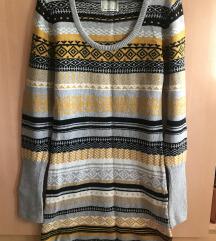 Bershka плетен фустан