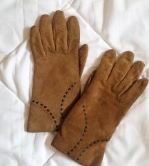 Камел кожни ракавици