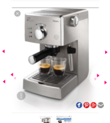 PHILIPS SAEECO COFFEE MAKER nam*3500*