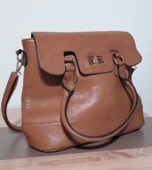 Светло кафена чанта