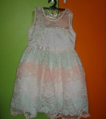 Svechen fustan za 6-7 god.+dodatoci