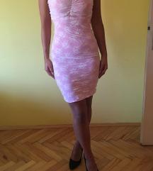 Розево фустанче со подарок наметка