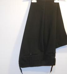 Crni pantaloni elegantni vel S - 300 den