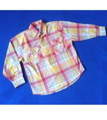 НОВО памучно кошулче, за 4-6 год