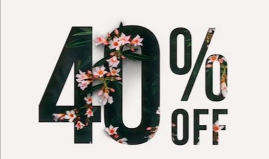 40% ПОПУСТ НА СИТЕ АРТИКЛИ