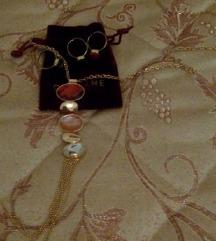 Nov set lance i 3 prsteni prilagodlivi