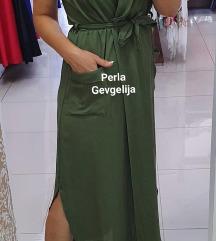 Miss chic maslinest fustan
