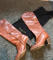 Massimo Dutti кожни чизми,