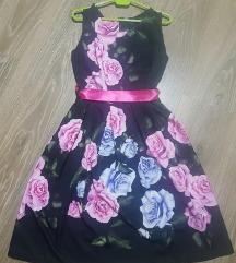 Нов цветен фустан