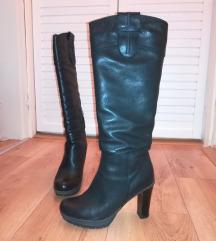 Кожни црни Biana чизми