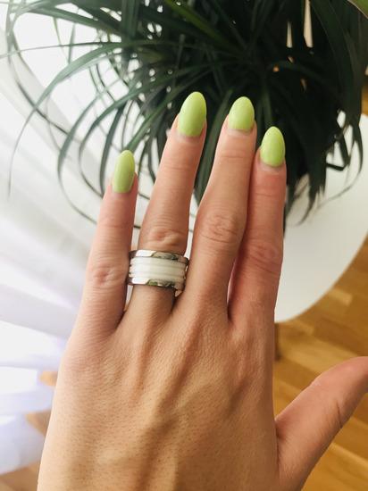 BVLGARI prsten od medicinski celik