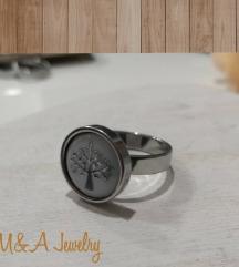Prsten od MEDICINSKI CELIK so znak FAMILY