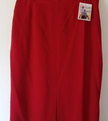 *500*NOVA crvena suknja ASTIBO br.44/XL