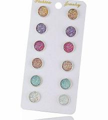Set obetki od drobeni kristali