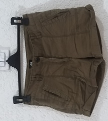 H&M kratki pantaloni 34 vel 100den