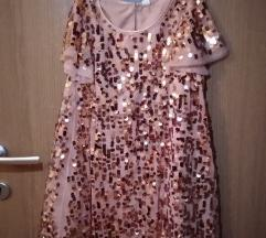 H&M.  свечен фустан до 8 г.