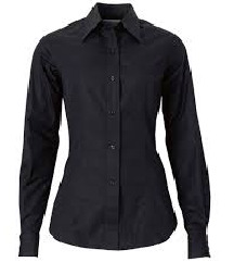 Црна женска кошула