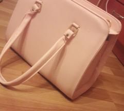 Бледо розева чанта
