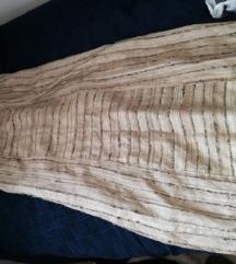 cista surova svila dolga suknja