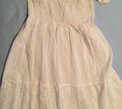 Фустан летен бел