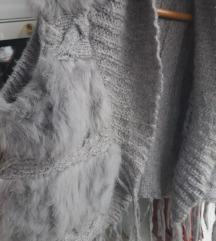 сиво кратко џемперче