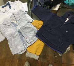 2 кошули, панталони, џеперче и ПОДАРОК