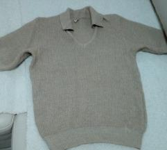 Bluza pletena so kratki rakavi