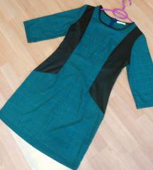 NOVO Petrolej- crn fustan L