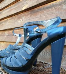 DIVINE FOLLIE кожни сандали