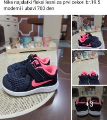 Nike br.19.5 za prvi cekori lesni