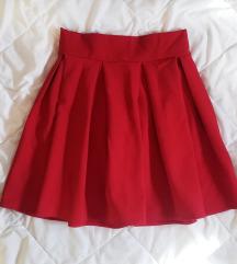 НОВА црвена сукња