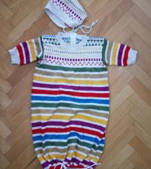 *400*Germanska pletena bebeska vreka NAMALENA