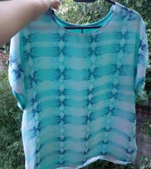 Блуза со кратки ракави