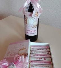 Вино и чоколатца