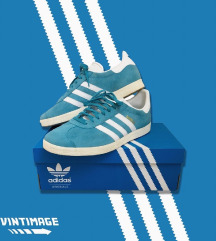 |||adidas GAZELLE light blue|