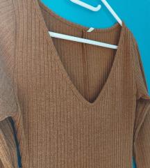 Nov mašinski pleten fustan vel.34/36/38*Razmeni